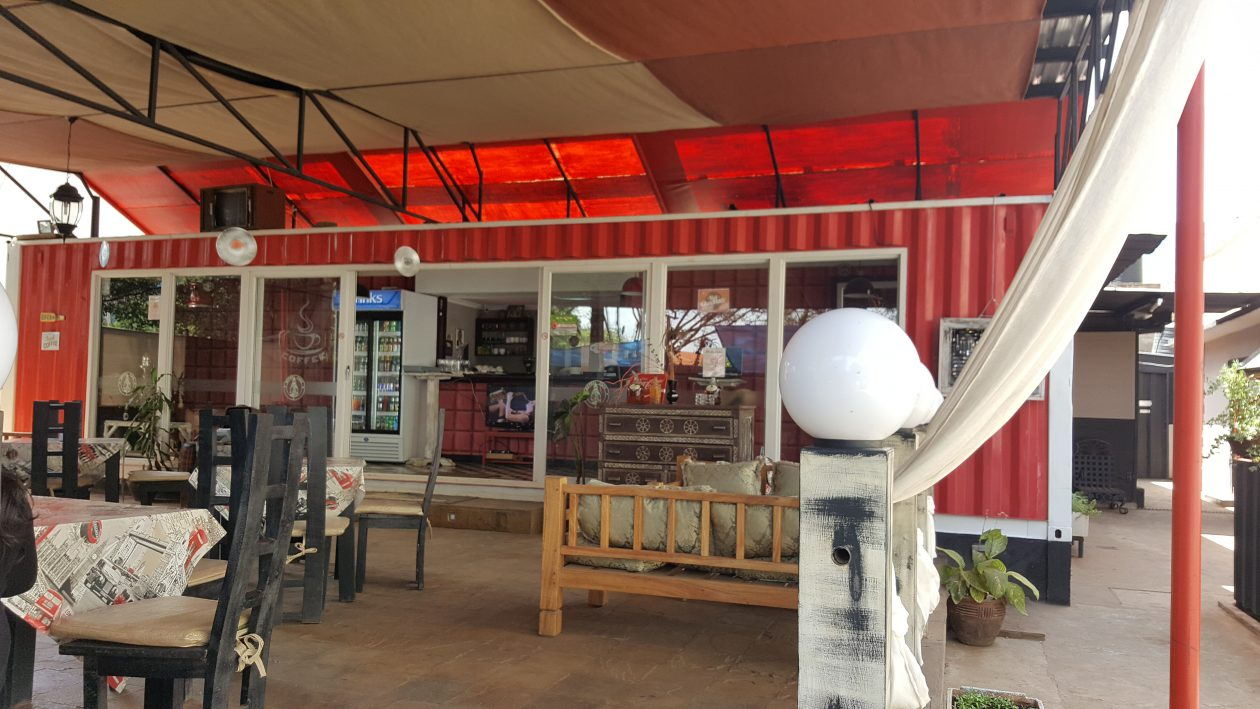 Nyale Investment Limited - Container Conversion To Restaurant